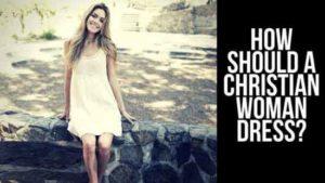 Modesty Dressing of christians