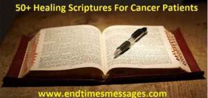 Healing Scriptures for Cancer