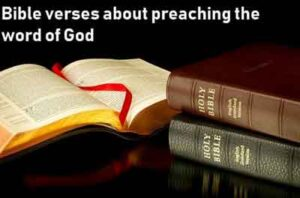 bible verses about preaching the word of god