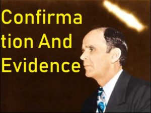Confirmation And Evidence