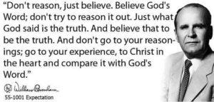 Believe From the Heart William Branham