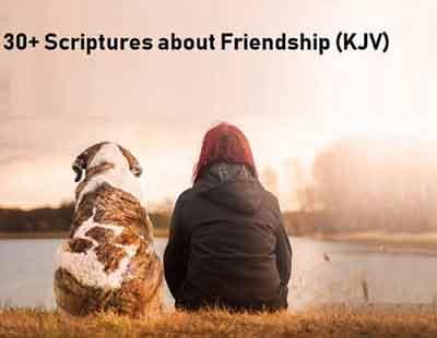 30+ Scriptures about Friendship (KJV)