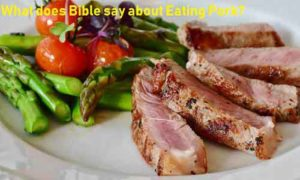 What does Bible say about Eating Pork?