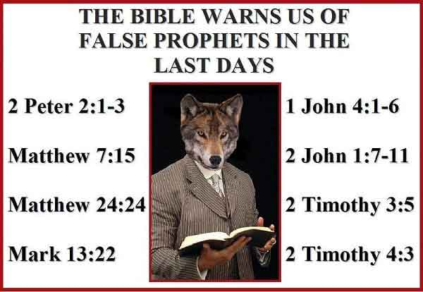 Warnings Against False Teachers in the Bible