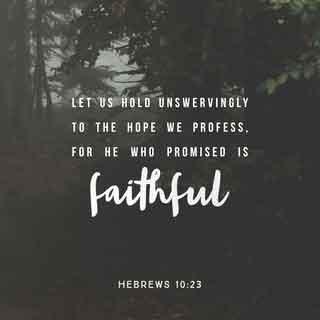 Hebrews 10:23 KJV