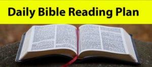Daily Bible Reading Plan