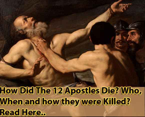 How Did The 12 Apostles Die?
