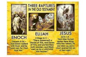Rapture Scriptures from Old testaments to New Testament