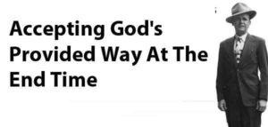 Gods way acceptance