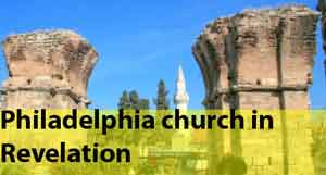 Philadelphia church in Revelation