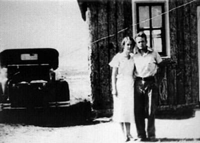 William Marrion Branham and Wife Hopes