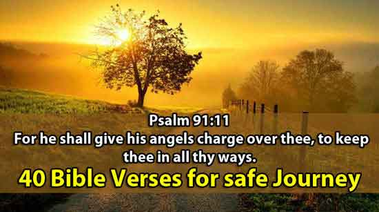Bible Verses for safe Journey