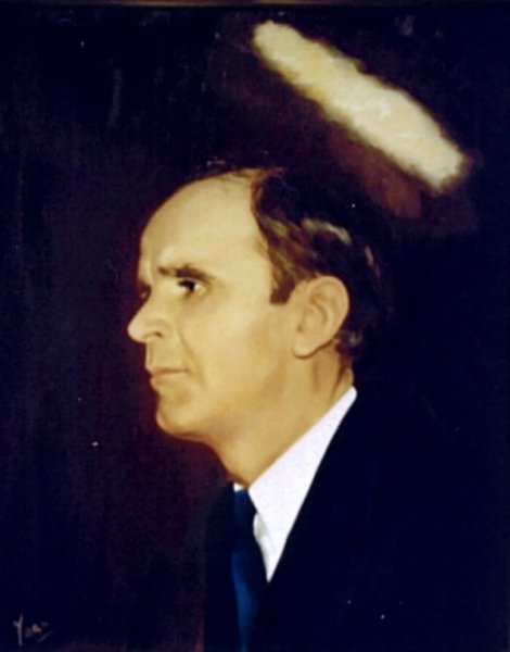William Marrion Branham  Pillar of fire photo