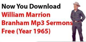 William marrion Branham Mp3 Downloads