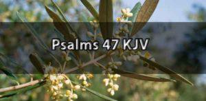 psalm 47 kjv