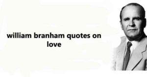 Bro Branham Quote of the Day
