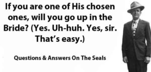Questions & Answers On The Seals