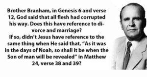 Genesis 6 and verse 12