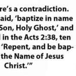 Light on Water Baptism – 19th verse, of Matthew