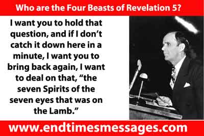 Who are the Four Beasts of Revelation 5?
