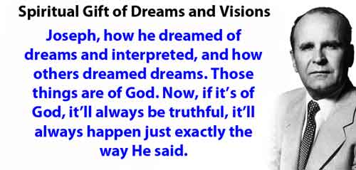 Spiritual Gift of Dreams and Visions