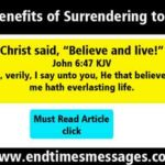 36 Benefits of Surrendering to God
