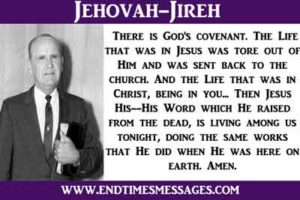 jehova Jireh