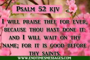Psalm 52 kjv - Psalm 52 king James Version