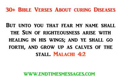 bible verses about curing diseases
