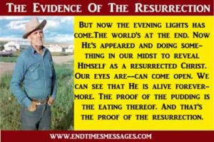 The evidence of the resurrection