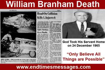 william branham death