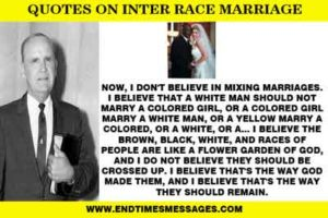 INTER RACE MARRIAGE