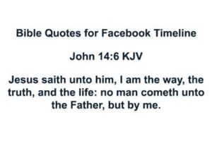 Bible Quotes for Facebook Timeline